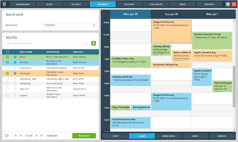FinestGov Scheduling App