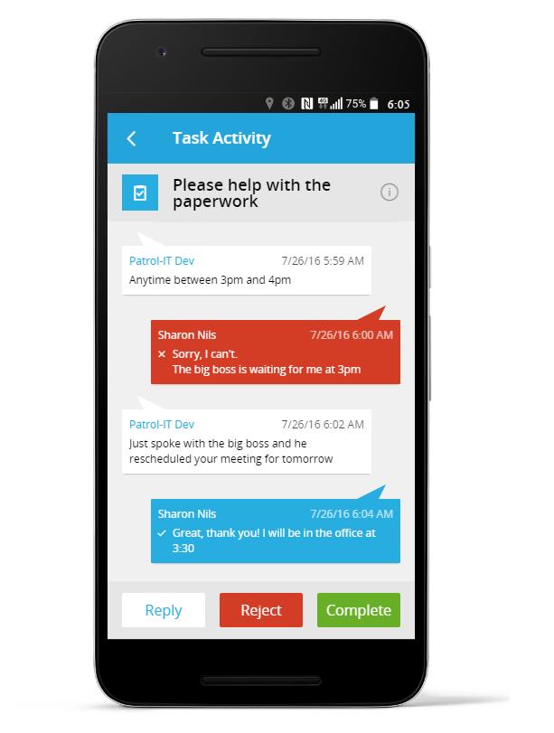 FinestGov Task Management