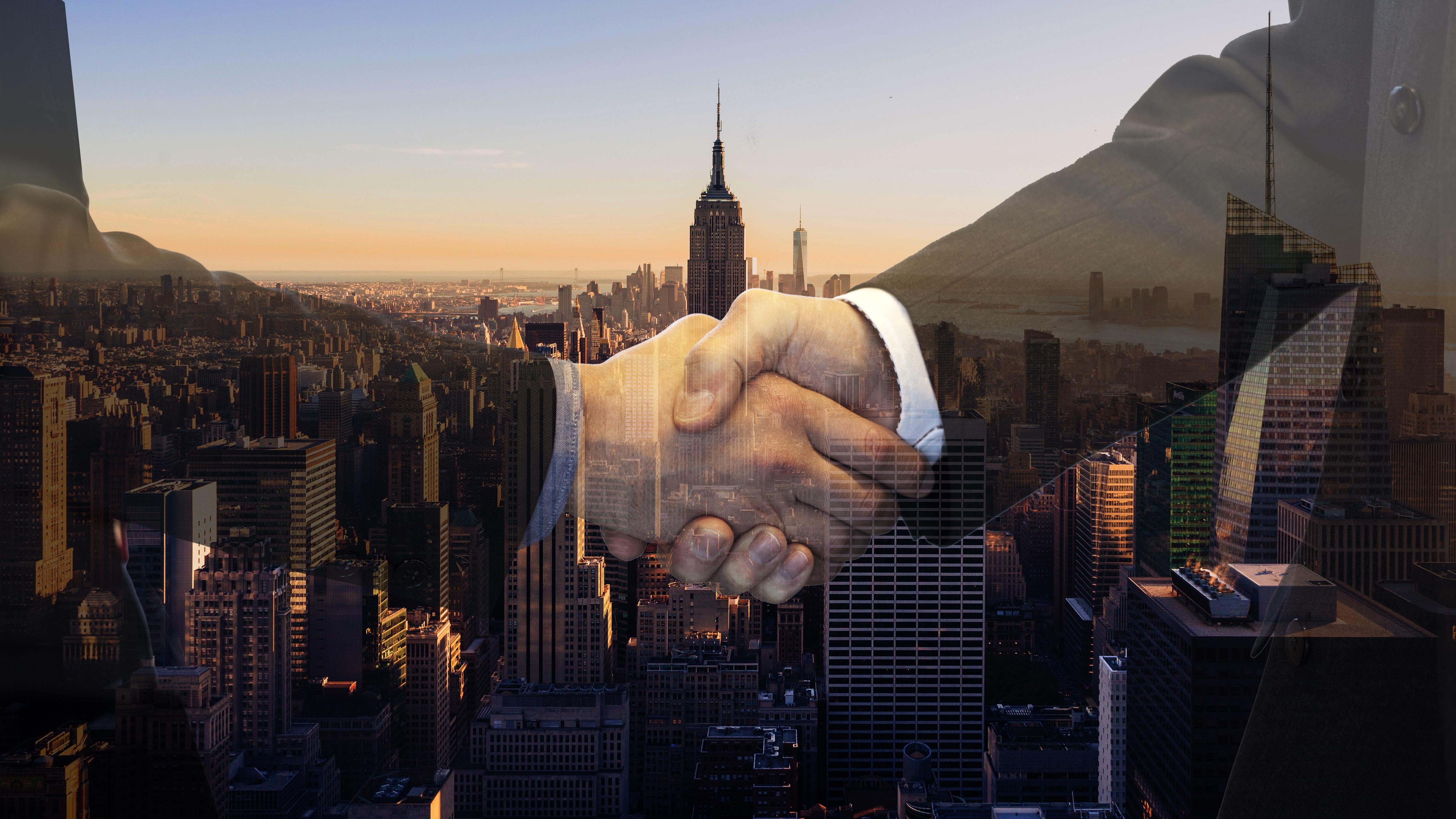 Handshake-NEW YORK City