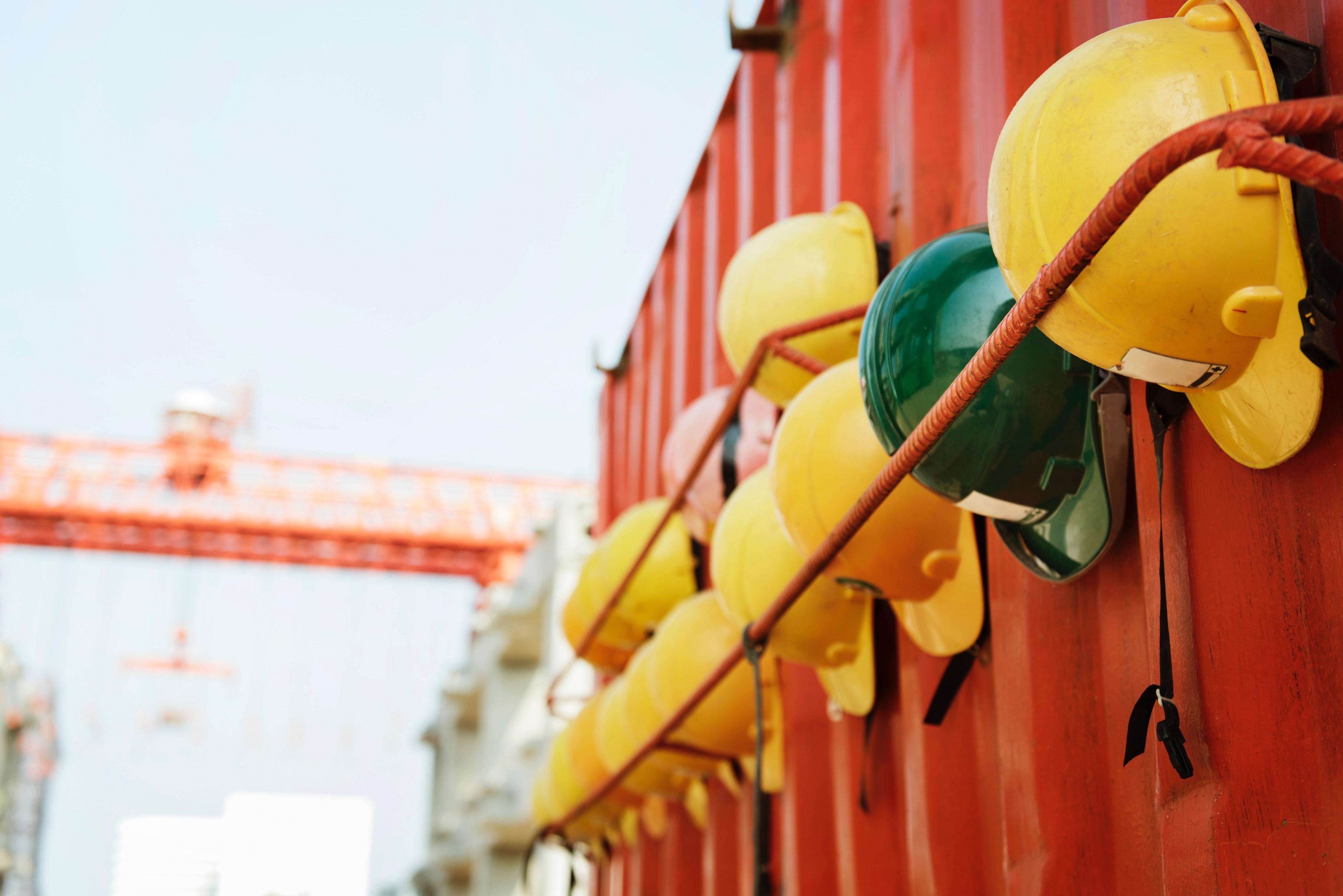 Construciton-Site-Helmets